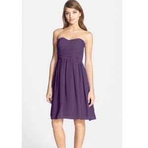 NWT Donna Morgan Sarah Amethyst Short Dress